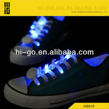 super brightness party dance shoelaces fiber optical glowing shoelaces luminous led shoelaces