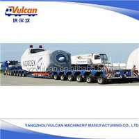 China popular specilized vehicle low bed semi trailer with high tech (Customized)