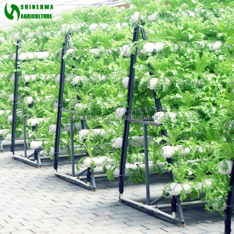 Greenhouse Indoor Hydroponic Channels Set