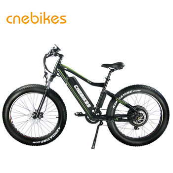 factory 1000w motor 26 inch fat tire power electric mountain bike/snow electric bicycle