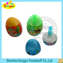 Egg shape Fruity Flavors Liquid Sour Spray Candy