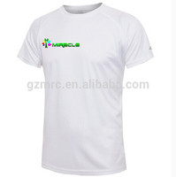 whosale 100% polyester cheap blank T shirt for sublimation
