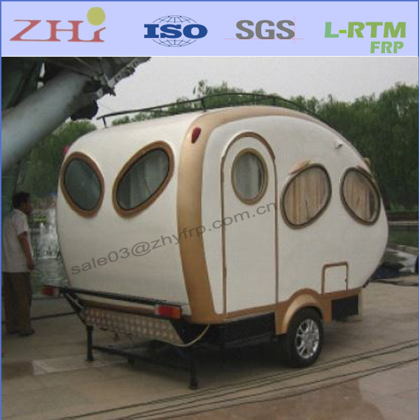 Small Fiberglass Travel Trailer Camper (8827A/B)