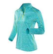 performance reflective half zip top pullover <strong>sports</strong> quick dry long sleeve training shirts top