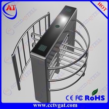Rotate solenoid locking mechanism access control rotary full height turnstile
