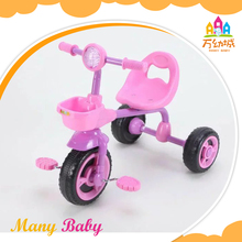 Top Quality adjustable handle bar baby tricycle cheap