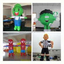 hot selling 2Hm inflatable cartoon, octopus themed inflatable moving cartoon ,customized advertising moving cartoon