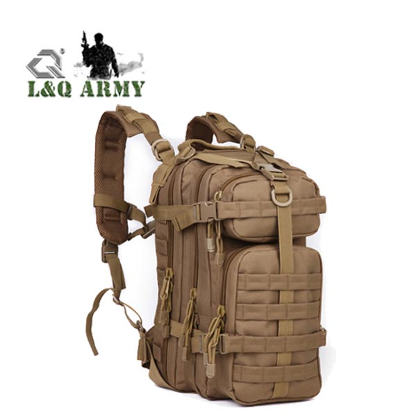 Military Tactical Camo Backpack Small Army Survival Molle Bag