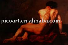 male nude art painting