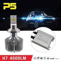 Retail H7 Dual LED 4500LM Low Beam Headlights Fog Lamp DRL 6000K