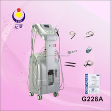 G228A hyperbaric oxygen skin rejuvenation beauty machine/ LED&BIO acne wrinkle scar removal equipment