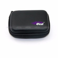 Safe E-Cig Accessories MOD 18650 Battery Charging Pouch Efest 3*18650 Zippered carrying case