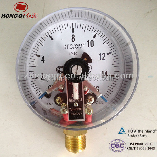 Hot sale 6 inch digital manometer with electric contact