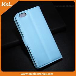 New design pu leather phone case for iphone5 6 6plus made in China printed color case