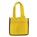 Hot sale promotion 90gsm non woven tote bag for wine and bottles