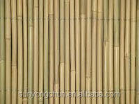 decorative garden high quality natural roll up movable bamboo fence