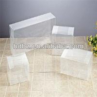 2013 high quality transparent plastic gift box/plastic pvc box/pvc case