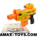 gun-989015A children electric gun stylish soft bullet toys gun for kids