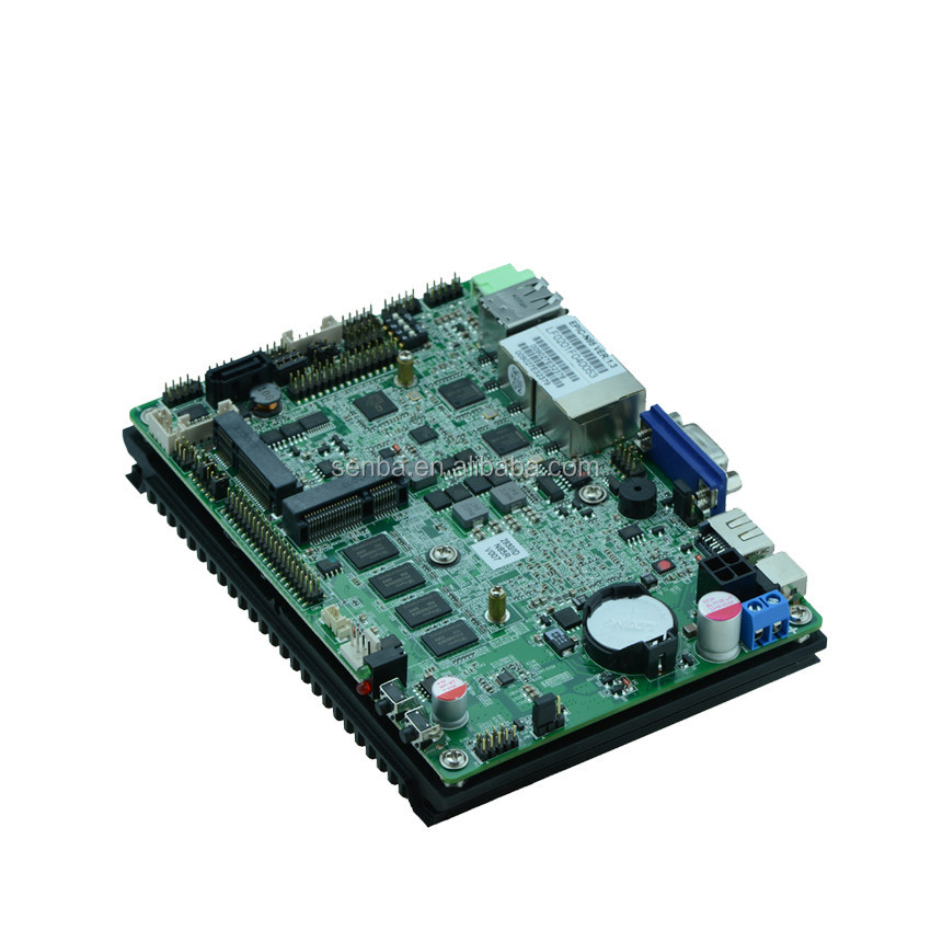 "linux embedded fanless 3.5"" sbc motherbaord with lvds 4 core n2930 4gb memory"