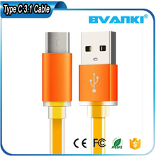 New usb 3.1 to type-c connector usb cable smart data cable for oneplus2 for letv 1 pro
