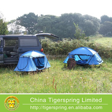 Portable heavy duty folding bed camping tent