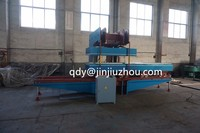 New Design Jaw Type Flat Vulcanizer Machine / V belt making machinery