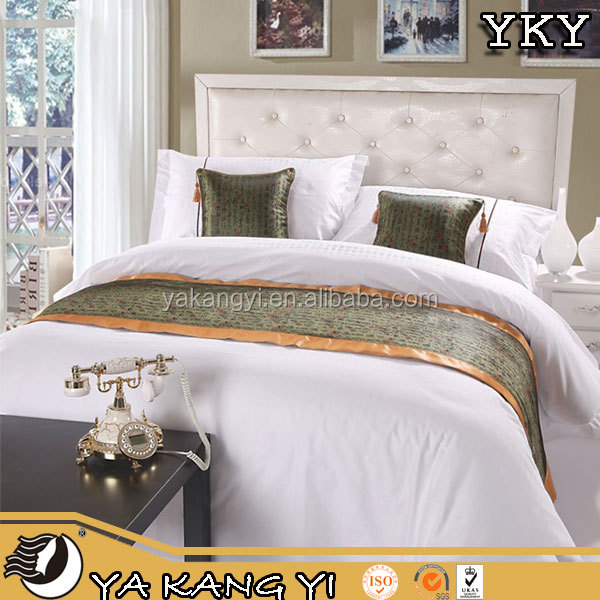 100% Cotton Fabric Bed Linen For Hotel/Home