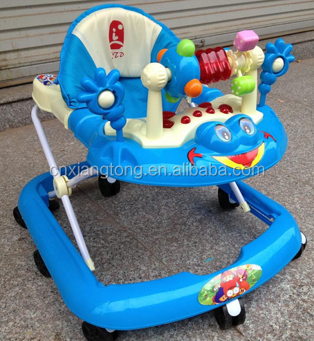 Colorful and safe baby walker