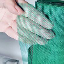Security Roll Up Black Plain Weave Insect Proof Fiberglass Mosquito Protection Window Screen