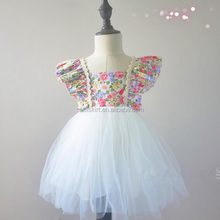 Summer Children Frocks Model Design 6 Years Small Girl Baby Clothes Fashion Dress