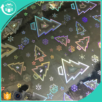 Various Pattern No Smell PVC Emboss Clear Film