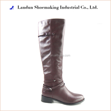 2017 genuine leather women riding boots over the knee boots