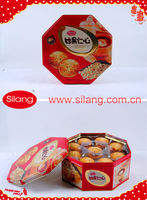 Red tins package Sesame Pastry Cookies 16.5oz