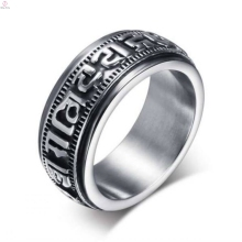 Wholesale customized high quality fashion style men arabic rings jewelry