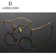 2017 china optics eyewear factory produce beta titanium big eyeglass optical frames