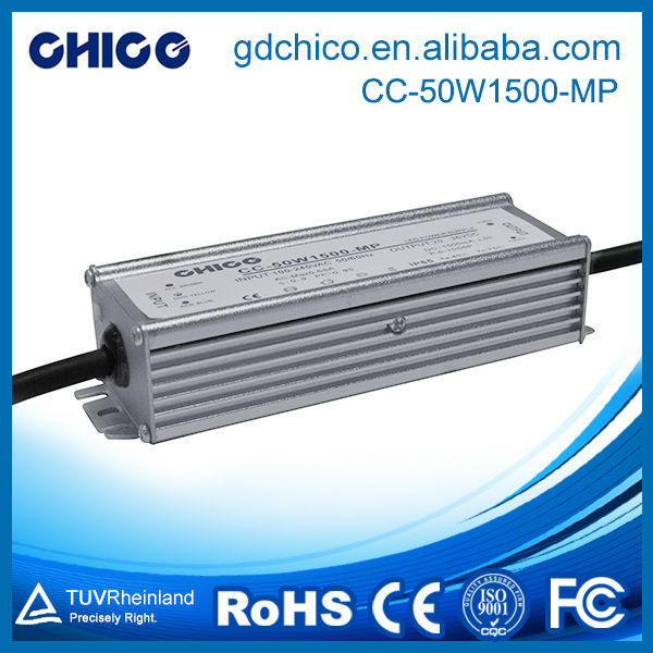 CC-50W1500-MP 50W 1500ma IP67 power dimming led driver
