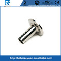 "SS304 1/2"" NPT Male thread adaptor with 50.5mm Tri clamp end Stainless Steel"