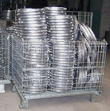 Garbage cage,galvanized steel crate,warehouse roll cage