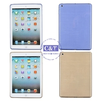 Cheap Custom Mobile Phone cases flower wallet leather stand case for ipad air 5