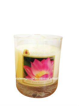 Sukhothai Organics Essential Oil Soy Wax Scented Candle