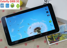 "Original Colorful G808 Tablet 3G WCDMA OS 4.2 MTK6592 Octa Core 1+8GB 5MP+2MP 8.0""1280*800 MINI phone call tablet"