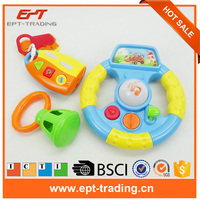 Baby Music Toys Steering Wheel hand bell Combination Sets Toy
