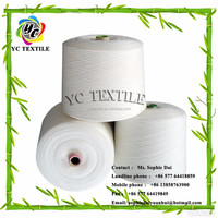 raw white polyester yarn 10s 12s 16s 20s 30s 40s 45s 50s