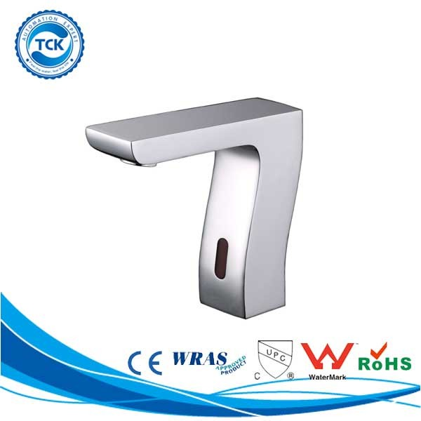 Lavatory bathroom infra-red automatic sensor tap sink faucet