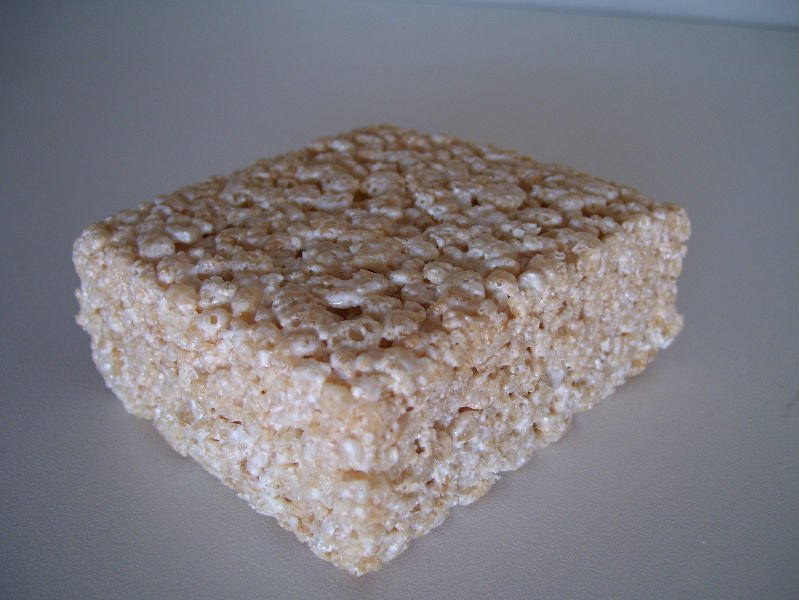 Customized rice crispy