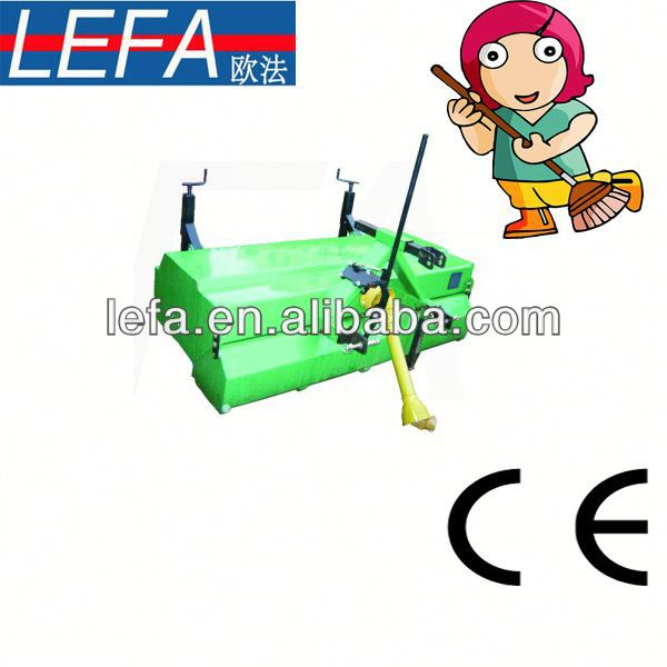 Tractor Mounted electric snow sweeper cleaning machines