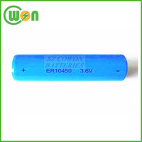Lithium Thionyl Chloride 3.6V lithium battery aaa ER10450 battery