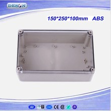 150*250*100mm Electrical ABS/PC IP66 Waterproof Enclosure With Clear Cover , Waterproof Box Series DS-AT-1525