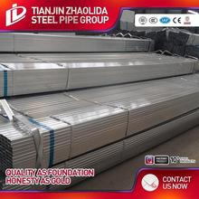 hot selling gi hollow section q235 galvanized steel square tube en10025 s355 and s275 for construction use