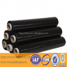 white black color stretch film/ high cling antirust film
